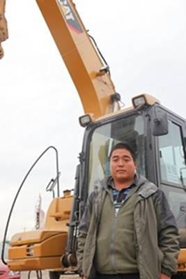 老赵 王牌 液压挖掘机 利器 亲身体验 cat 312d/体验时间:2012年11月22日