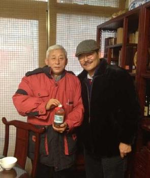 毕福剑 张汉忠/全国众多顶级肖像漫画家相聚在张汉忠毕福剑画室合影