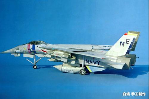 白海小学手工制作的模型飞机