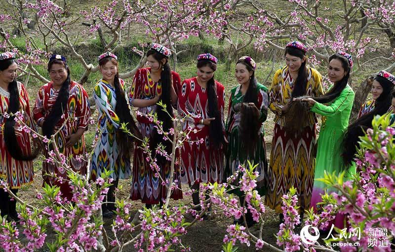 新疆叶城县恰尔巴格镇园艺场的近