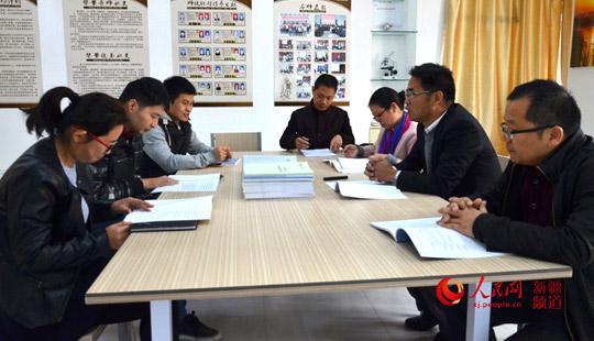 新疆兵团第一师阿拉尔市塔里木高级中学的援疆教师