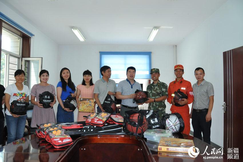 新疆计量院走访慰问武警新疆乌鲁木齐森林大队
