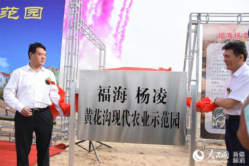 新疆福海县携手杨凌高新区打造中国高纬度农业示范基地