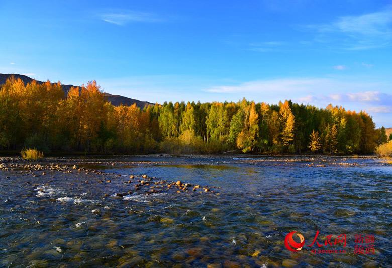 九月到新疆可可托海遇到最美秋天(组图)