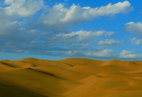"""走进""""城市沙漠""""新疆库木塔格沙漠"""