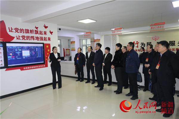 新疆奎屯市:智慧平台,�社�^治理更加精准高效