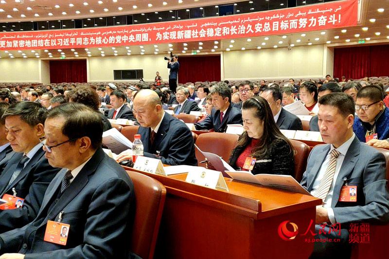 新疆维吾尔自治区政协十二届三次会议开幕(图)【2】