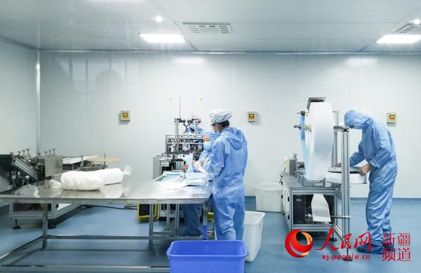 烏魯木齊:口罩生產企業加緊恢復生產全力供應市場