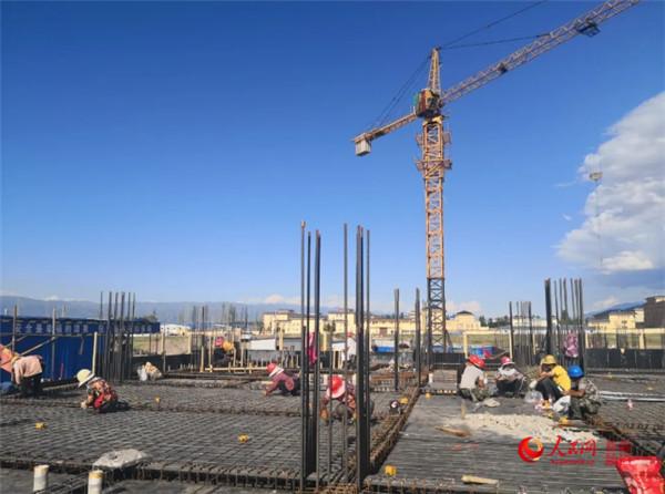 扬州援疆指挥组推动援疆项目全面复工复产