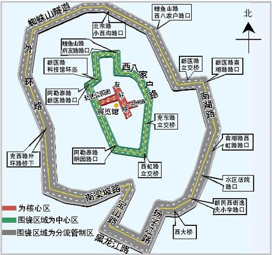 乌鲁木齐银川路地图